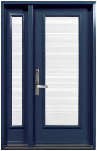 Porte Acier Novatech Azur-Bleu